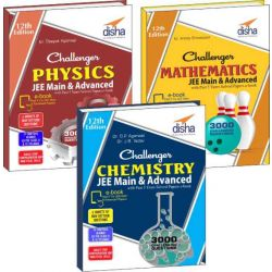 Challenger Physics, Chemistry & Mathematics for JEE Main & Advanced with past 5 years Solved Papers ebook (12th edition)