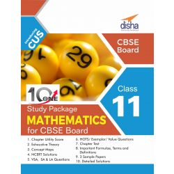 10 in One Study Package for CBSE Mathematics Class 11 with 3 Sample Papers