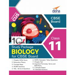 10 in One Study Package for CBSE Biology Class 11 with 3 Sample Papers