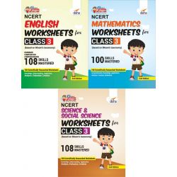 Perfect Genius NCERT English, Mathematics, Science & Social Science Worksheets for Class 3 (based on Bloom's taxonomy) 2nd Edition