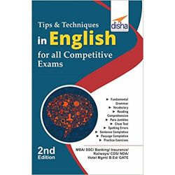 Tips & Techniques in English for Competitive Exams 2nd Edition