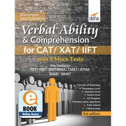 Verbal Ability & Comprehension for CAT/ XAT/ IIFT with 5 Mock Tests 3rd Edition eBook