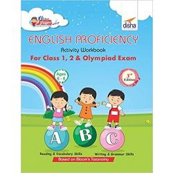 Perfect Genius English Proficiency Activity Workbook for Class 1, 2 & Olympiad Exams 3rd Edition (Ages 6 to 8)