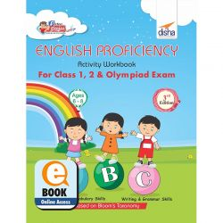 Perfect Genius English Proficiency Activity Workbook for Class 1, 2 & Olympiad Exams 3rd Edition (Ages 6 to 8) eBook