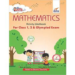 Perfect Genius Mathematics Activity Workbook for Class 1, 2 & Olympiad Exams 3rd Edition (Ages 6 to 8)
