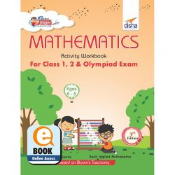 Perfect Genius Mathematics Activity Workbook for Class 1, 2 & Olympiad Exams 3rd Edition (Ages 6 to 8) eBook