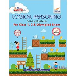 Perfect Genius Logical Reasoning Activity Workbook for Class 1, 2 & Olympiad Exams 3rd Edition (Ages 6 to 8)