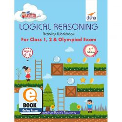 Perfect Genius Logical Reasoning Activity Workbook for Class 1, 2 & Olympiad Exams 3rd Edition (Ages 6 to 8) eBook