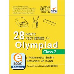 28 Mock Test Series for Olympiads Class 2 Science, Mathematics, English, Logical Reasoning, GK & Cyber 2nd Edition eBook