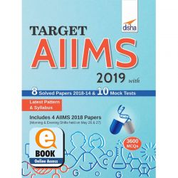 Target AIIMS (UG) 2019 with 8 Solved Papers (2018-14) & 10 Mock Tests eBook
