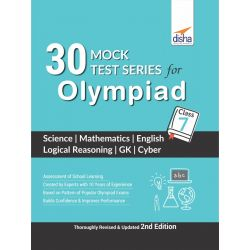 30 Mock Test Series for Olympiads Class 7 Science, Mathematics, English, Logical Reasoning, GK & Cyber 2nd Edition