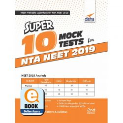 Super 10 Mock Tests for NTA NEET 2019 - 2nd Edition eBook