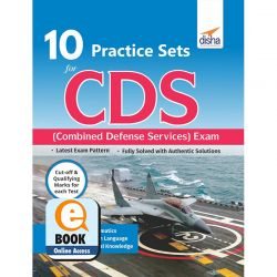 10 Practice Sets Workbook for CDS (Combined Defence Services) Exam eBook