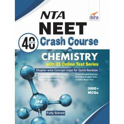 NTA NEET 40 Days Crash Course in  Chemistry with 33 Online Test Series 3rd Edition