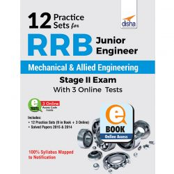 12 Practice Sets for RRB Junior Engineer Mechanical & Allied Engineering Stage II Exam with 3 Online Tests eBook