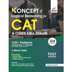 Koncepts of LR - Logical Reasoning for CAT & Other MBA Exams 3rd Edition