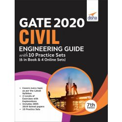 GATE 2020 Civil Engineering Masterpiece with 10 Practice Sets (6 in Book + 4 Online) 7th edition