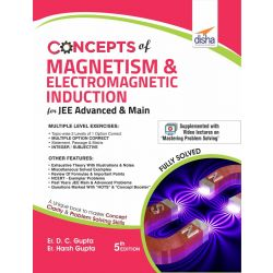 Concepts of Magnetism & Electromagnetic Induction for JEE Advanced & Main 5th Edition