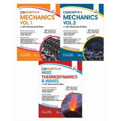 Concepts of Class 11 Physics for JEE Advanced & Main - (Mechanics, Thermodynamics and Waves) 4th Edition