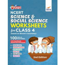Perfect Genius NCERT Science & Social Science Worksheets for Class 4 (based on Bloom's taxonomy) 2nd Edition