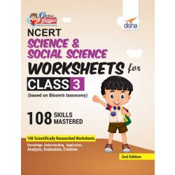 Perfect Genius NCERT Science & Social Science Worksheets for Class 3 (based on Bloom's taxonomy) 2nd Edition