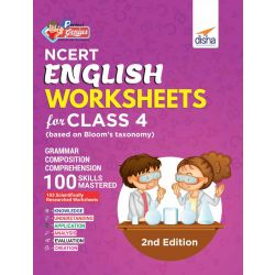 Perfect Genius NCERT English Worksheets for Class 4 (based on Bloom's taxonomy) 2nd Edition