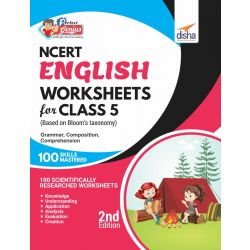 Perfect Genius NCERT English Worksheets for Class 5 (based on Bloom's taxonomy) 2nd Edition