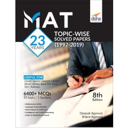 MAT 23 years Topic-wise Solved Papers (1997-2019) 8th Edition