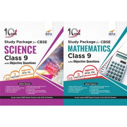 Combo 10 in One Study Package for CBSE Science & Mathematics Class 9 with Objective Questions 2nd Edition