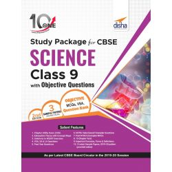 10 in One Study Package for CBSE Science Class 9 with Objective Questions 2nd Edition