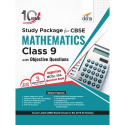 10 in One Study Package for CBSE Mathematics Class 9 with Objective Questions 2nd Edition