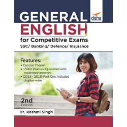 General English for Competitive Exams - SSC/ Banking/ Defence/ Insurance - 2nd Edition