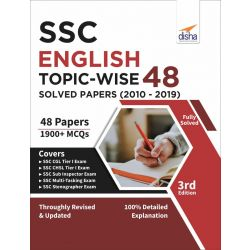 SSC English Topic-wise LATEST 48 Solved Papers (2010-2019) 4th Edition