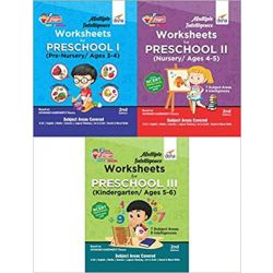 Multiple Intelligence Worksheets for PRESCHOOL I, II & III (Pre-Nursery, Nursery & Kindergarten/ Ages 3-6) 2nd Edition