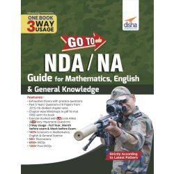 GO TO NDA/ NA Guide for Mathematics, English & General Knowledge