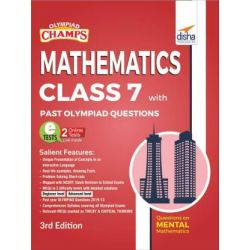 Olympiad Champs Mathematics Class 7 with Past Olympiad Questions 3rd Edition