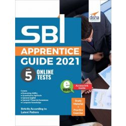 SBI Apprentice Guide 2021 with 5 Online Tests