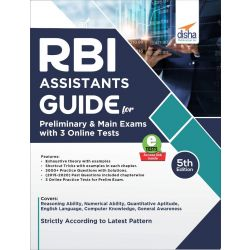 RBI Assistants Guide for Preliminary & Main Exams with 3 Online Tests 5th Edition