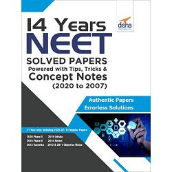 14 Years NEET Solved Papers powered with Tips, Tricks & Concept Notes (2020 to 2007)