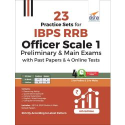 23 Practice Sets for IBPS RRB Officer Scale 1 Preliminary & Main Exams with Past Papers & 4 Online Tests 6th Edition