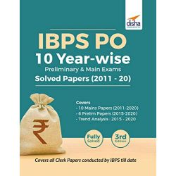 IBPS PO 10 Year-wise Preliminary & Main Exams Solved Papers (2011-20) 3rd Edition