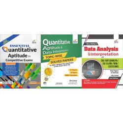 Quantitative Aptitude/ Data Interpretation Guide with Past 11 Year Solved Papers for SBI/ IBPS Bank Clerk/ PO/ RRB/ RBI Exams