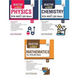 Objective NCERT Xtract Physics, Chemistry, Mathematics for JEE Main 5th Edition