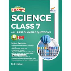 Olympiad Champs Science Class 7 with Past Olympiad Questions 3rd Edition