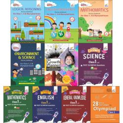 Class 1 Study Material & Creative Activity Books for Olympiad Preparation & Skill Development
