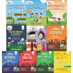 Class 2 Study Material & Creative Activity Books for Olympiad Preparation & Skill Development