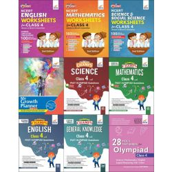 Class 4 Study Material & Creative Activity Books for Olympiad Preparation & Skill Development