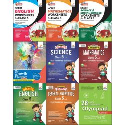 Class 5 Study Material & Creative Activity Books for Olympiad Preparation & Skill Development
