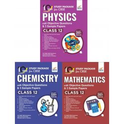 Combo 10 in One Study Package for CBSE Physics, Chemistry & Mathematics Class 12 with Objective Questions & 9 Sample Papers 4th Edition