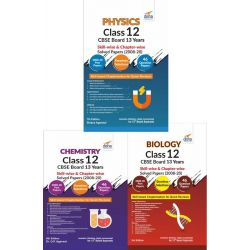 Physics, Chemistry, Biology Class 12 CBSE Board 13 Years Skill-wise & Chapter-wise Solved Papers (2008 - 20) 3nd Edition
